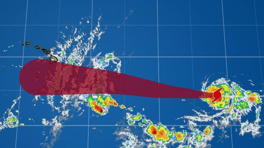 Hurricane Hector Now a Major Hurricane