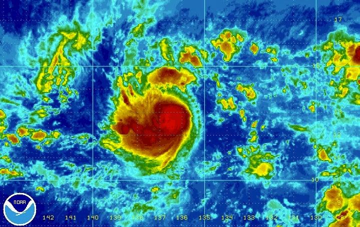 hilda strengthens into a hurricane