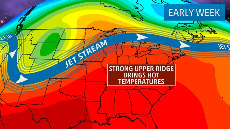 Heat Wave Setting Record Highs In The Midwest And Northeast Early This Week The Weather Channel