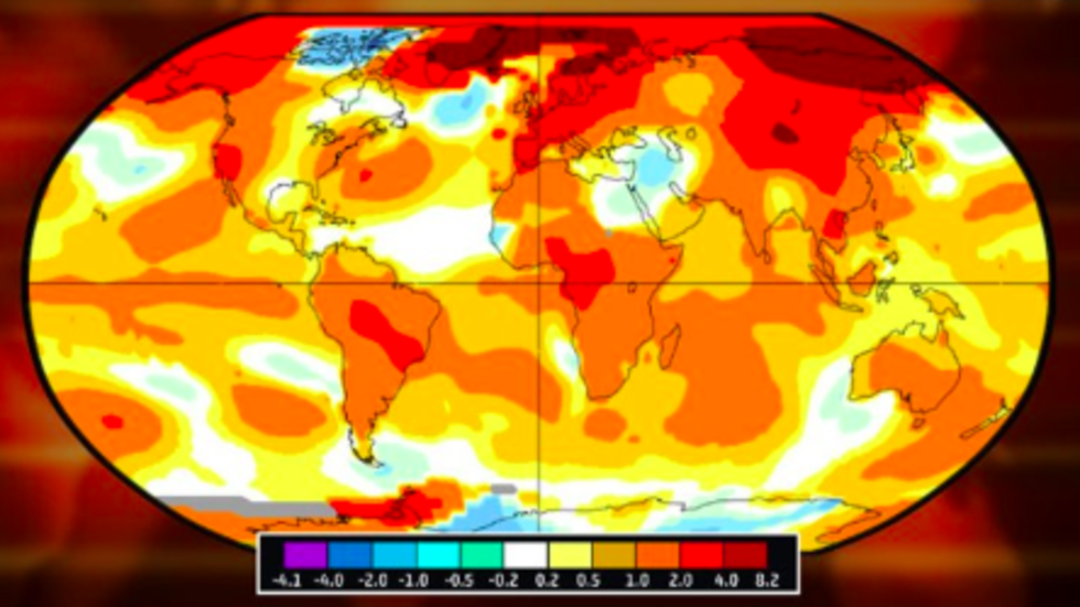 Planet has Second-warmest April on Record