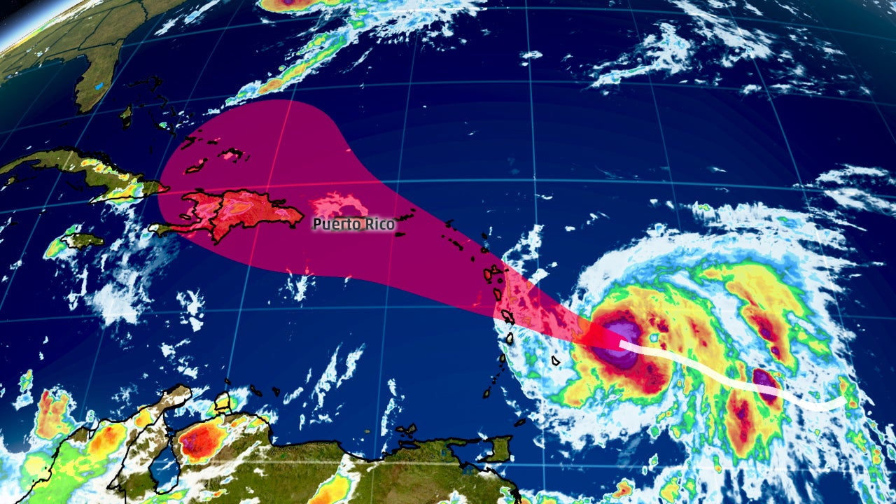 hurricane maria forecast to pose a potentially serious