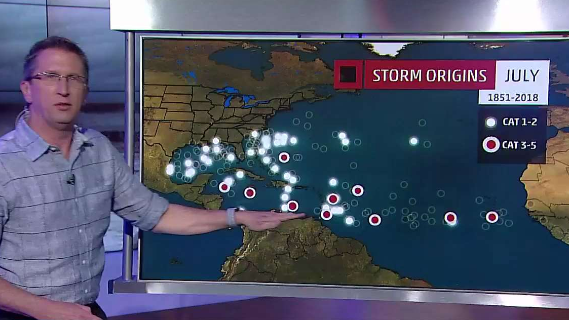 Where Should We Be Watching For Hurricane Formations in July?