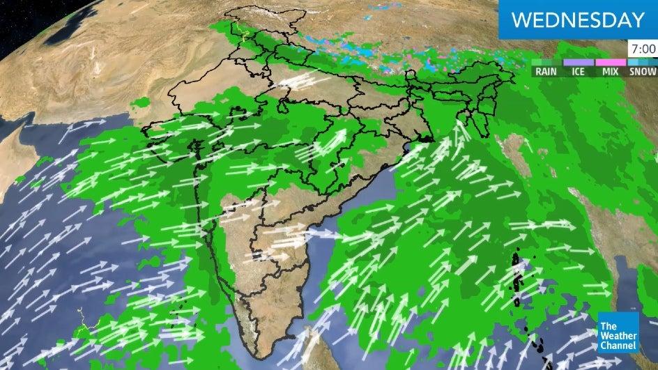 Maharashtra to Receive Heavy Rains over the Next Two Days
