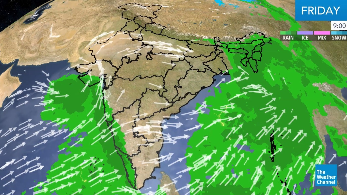 West Bengal, Northeast to Receive Fairly Widespread Rainfall | The