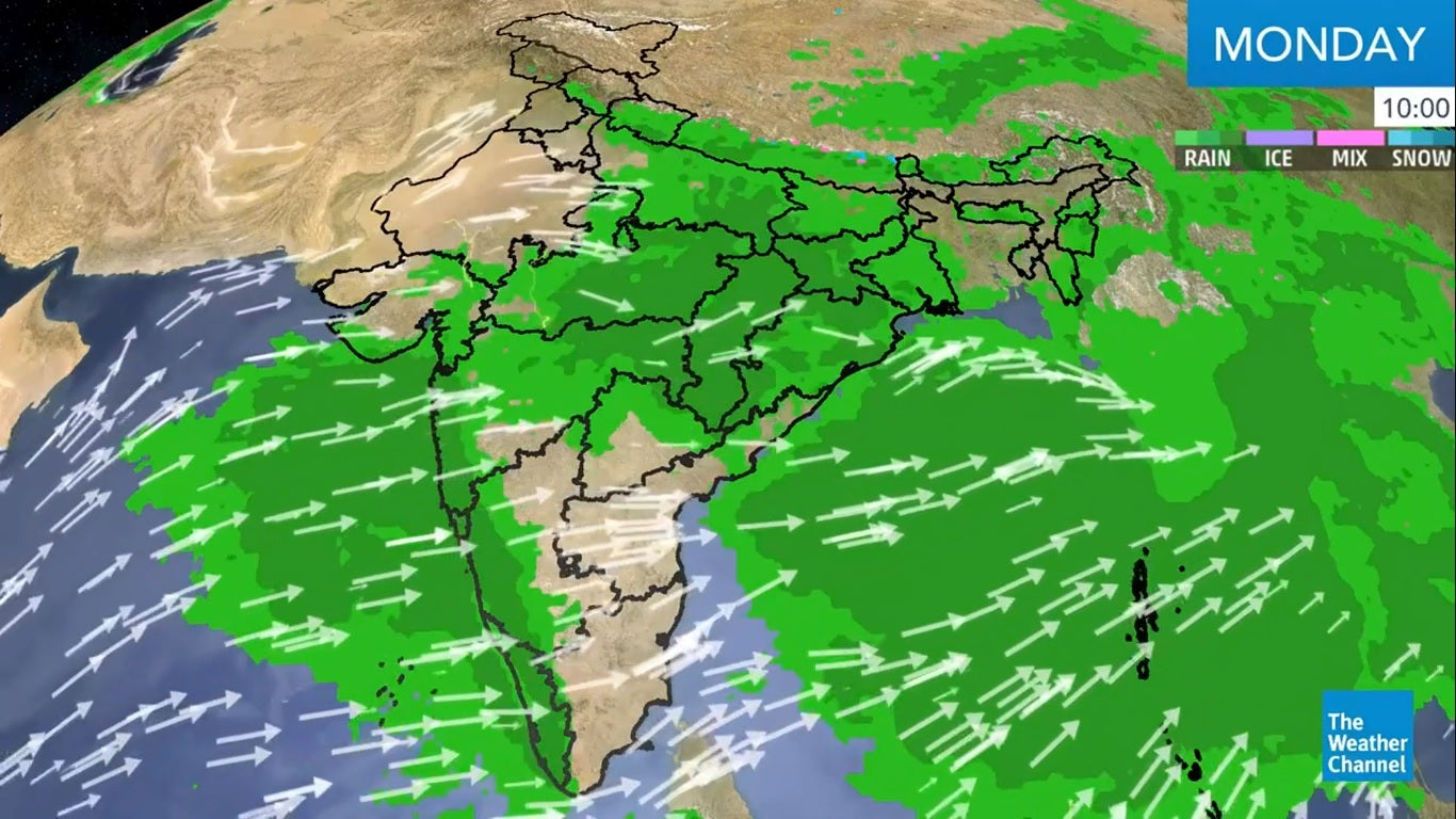 Very Heavy Rains, Thunderstorms Predicted over Karnataka, Maharashtra, West Bengal | The Weather Channel