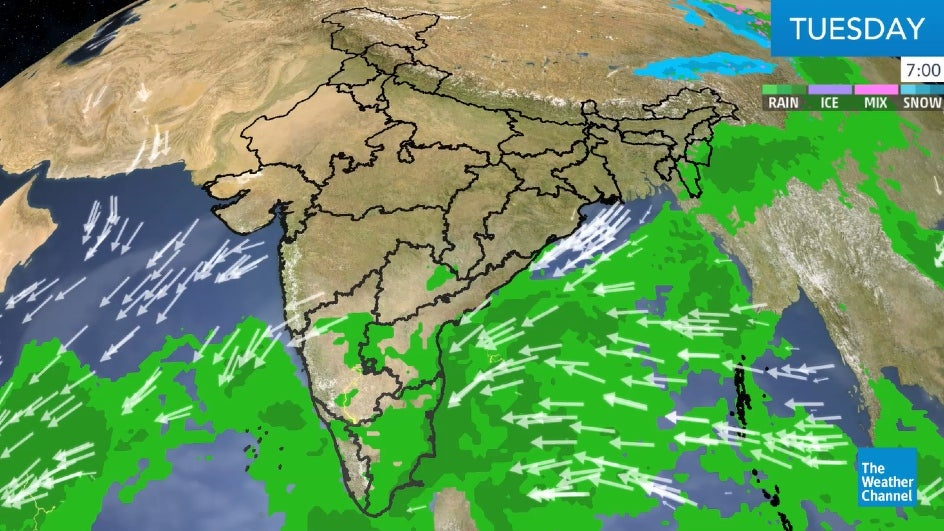Tamil Nadu, Maharashtra, West Bengal In for Isolated Rain and Thunderstorms