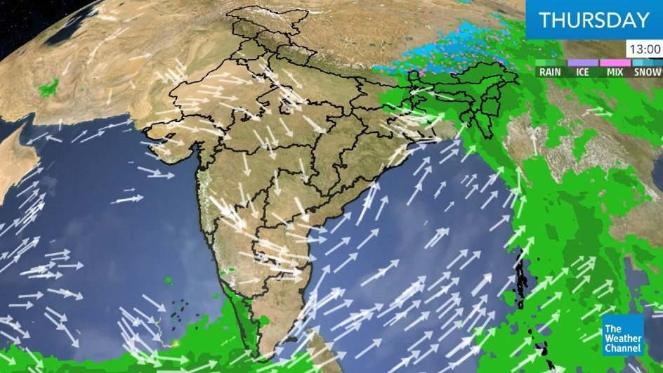 Cyclone Amphan to Cause Torrential Rainfall over West Bengal, Assam | The Weather Channel