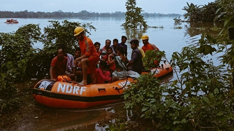 Assam Floods: Death Toll Increases to 40; 2 Lakh in 12 Districts Remain Affected