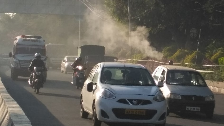 In 10 Years Bengaluru's Air Toxicity Has Gone Up by 46%