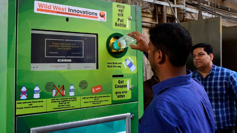 Railway Board Chairman VK Yadav said that 400 bottle-crushing machines would be installed at railway premises across the country. At present, 160 such machines are present across 128 railway stations.