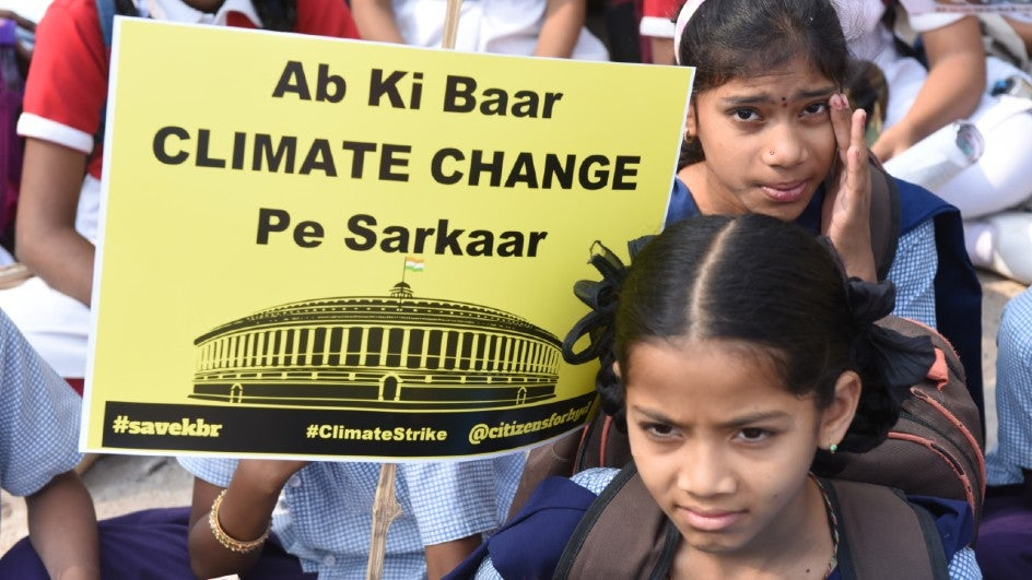India Sticking to Current Climate Goals Till 2023: Fin Min Report