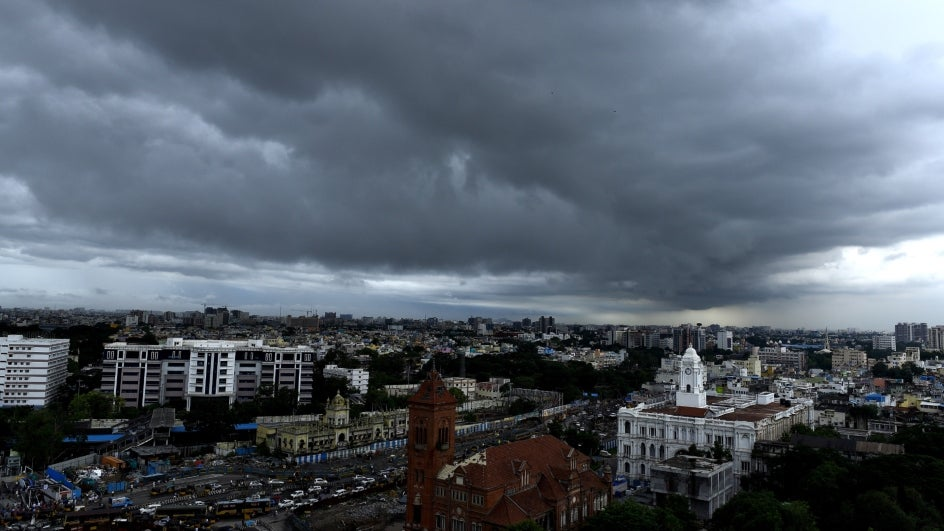 Chennai Set to End Northeast Monsoon Season with ~17% Rainfall Deficit