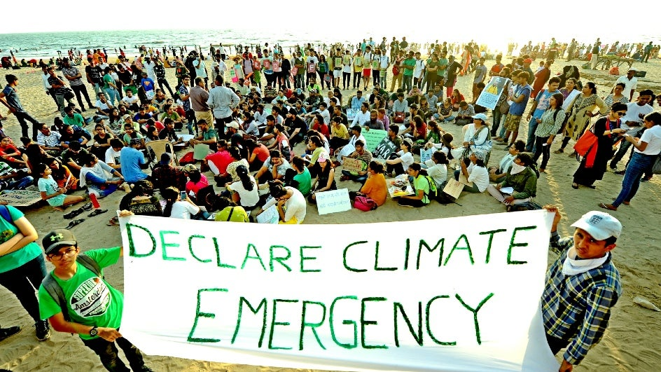 Thousand of Indians will join the Global Climate Strike between September 20 and 27