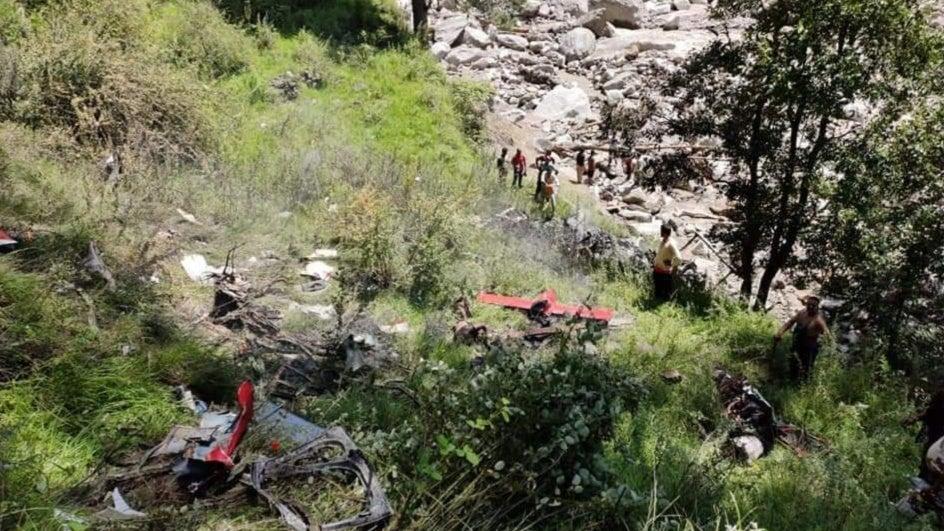 Rescue Helicopter Crashes in Uttarakhand; Three Killed