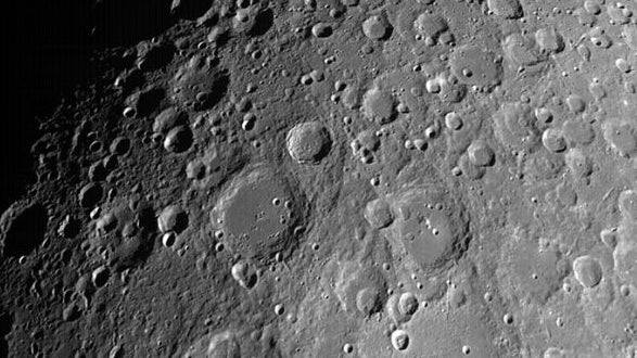 Chandrayaan-2 Sends Photos of Craters on Moon's Surface