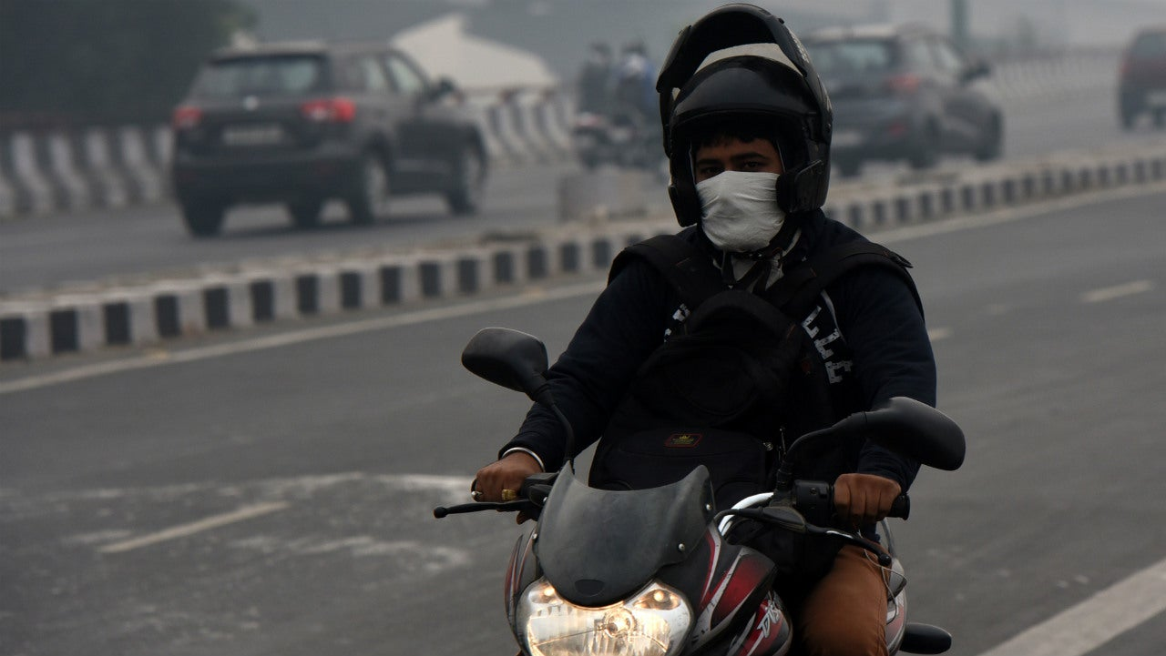 A Study to Find Out How Much Pollutant You Are Inhaling Daily