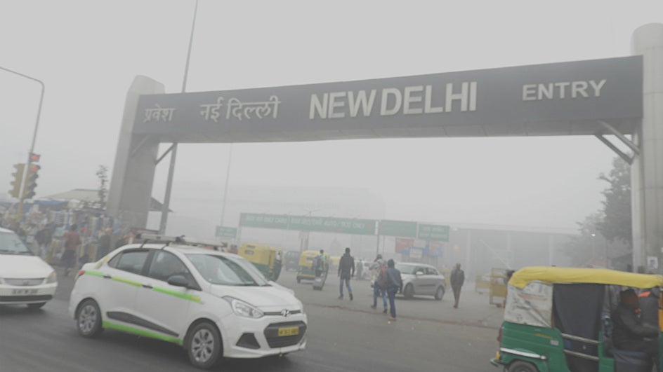 Air Quality Drops, Delhi Gasps for Breath