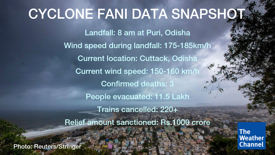 Cyclone Fani Live: Flights Cancelled in Guwahati, Other Cities of