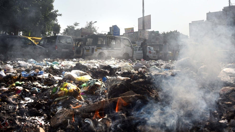 Construction Dust, Garbage Burning Top Polluting Activities: CPCB