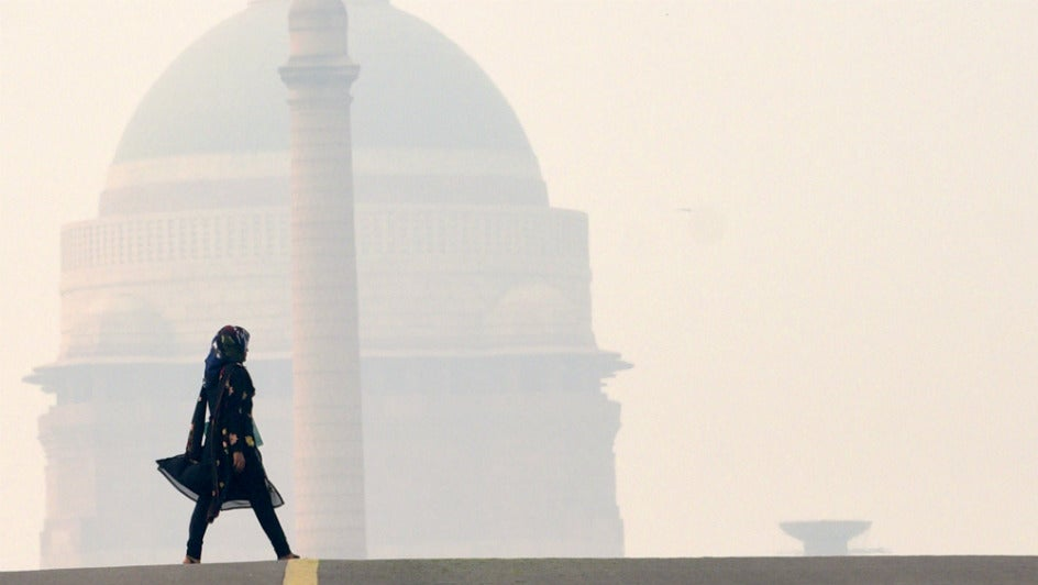 Delhi's Air Quality Remains 'Severe' for Second Day
