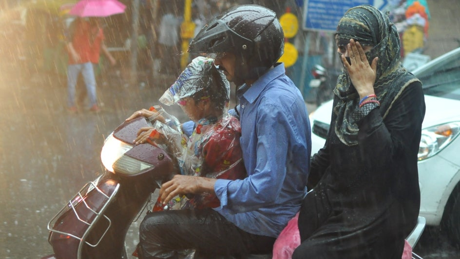 North Indian States to Receive Isolated Heavy Rains; Multiple States Under Orange Alert