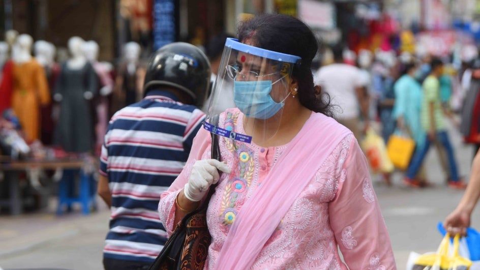 Combination of Face Shields, Masks May Still Not Prevent COVID-19  Infection: Study | The Weather Channel - Articles from The Weather Channel  | weather.com