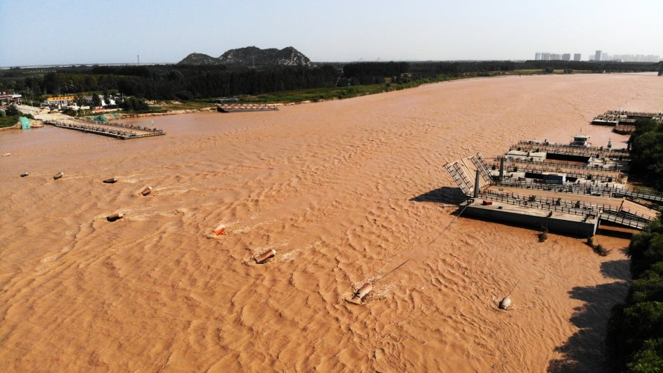 China Increases Emergency Response for Floods to Level II