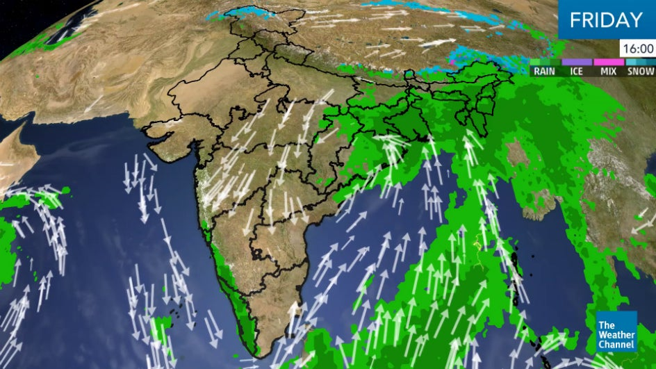Rains Continue in South; Trouble Brewing Near Andaman?