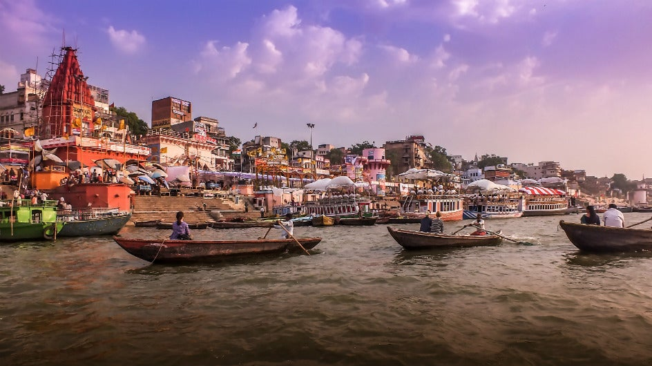 Atomic Radiation Polluting the Ganga?