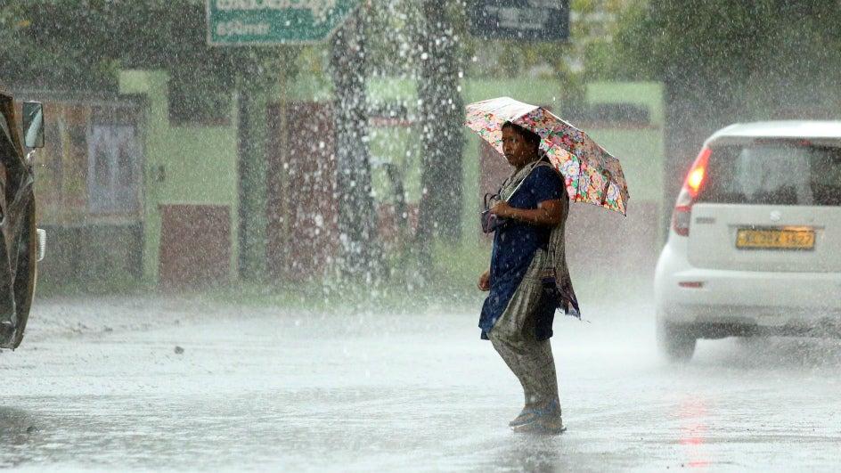 Cyclone Gaja Triggers Heavy Rain and Landslides in Kerala