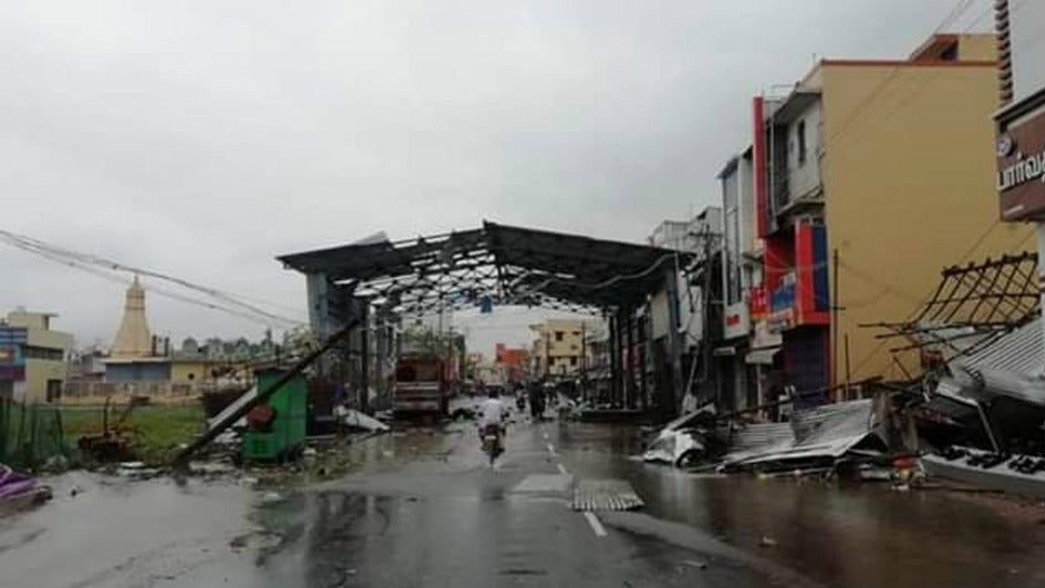 Death Toll in Cyclone Gaja Rises to 45