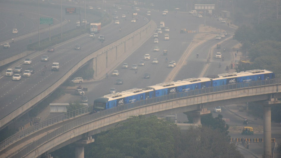 Dust from Middle East Makes Gurugram India's Most Polluted City