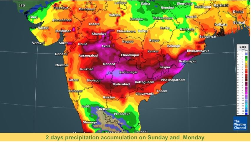 Red Warning: Cyclone Gulab To Drench Six States—Odisha, Telangana, Maharashtra, Andhra Pradesh, Chhattisgarh, Gujarat   The Weather Channel - Articles from The Weather Channel   weather.com