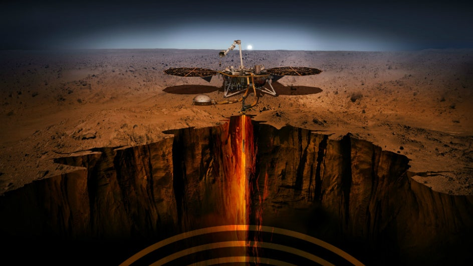 On Its 1,000th Martian Day, NASA's InSight Lander Records the Biggest Marsquake On the Red Planet   The Weather Channel - Articles from The Weather Channel   weather.com
