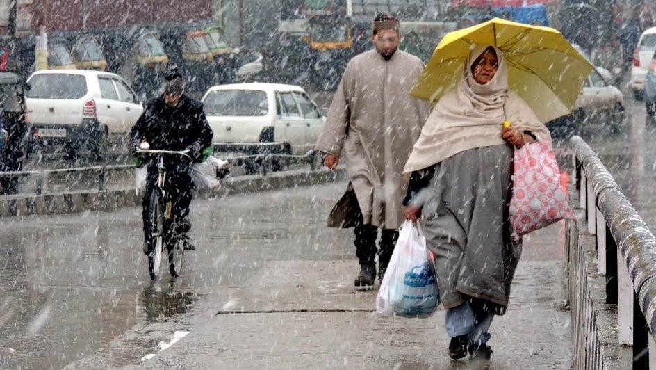 Heavy Snowfall Alert in J&K, Himachal Pradesh