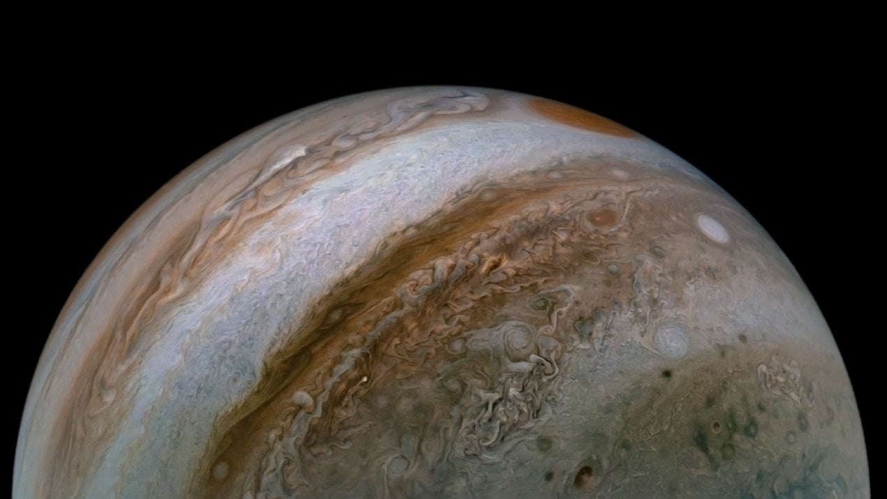 Jaunty Jupiter: Some Fascinating Images of the Gas Giant Captured by NASA's Juno Spacecraft (PHOTOS) | The Weather Channel - Articles from The Weather Channel | weather.com - The Weather Channel