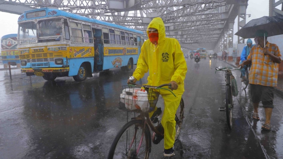 Kolkata to Begin July on Wet Note; Heavy Rains Expected Across West Bengal