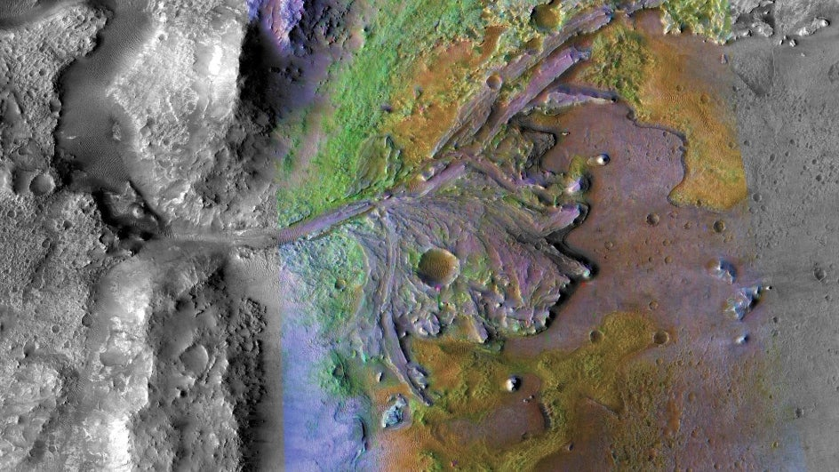 NASA's Mars 2020 Landing Site May Be Housing Preserved Signs of Past Life