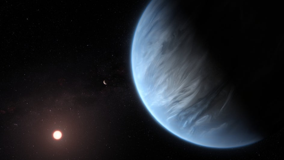 Water Vapour Found for First Time on Faraway Planet in Habitable-zone