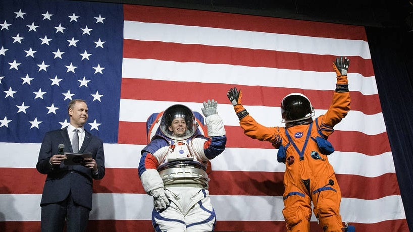 NASA Unveils New Spacesuits for Upcoming Moon and Mars Missions
