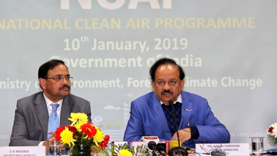 National Clean Air Programme Unveiled; Aims for 20-30% Drop in Toxic Air by 2024