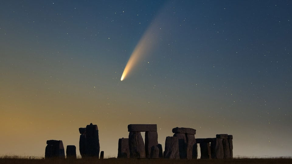 Good-bye Comet NEOWISE: Glimpses of Rare Cosmic Visitor as It ...