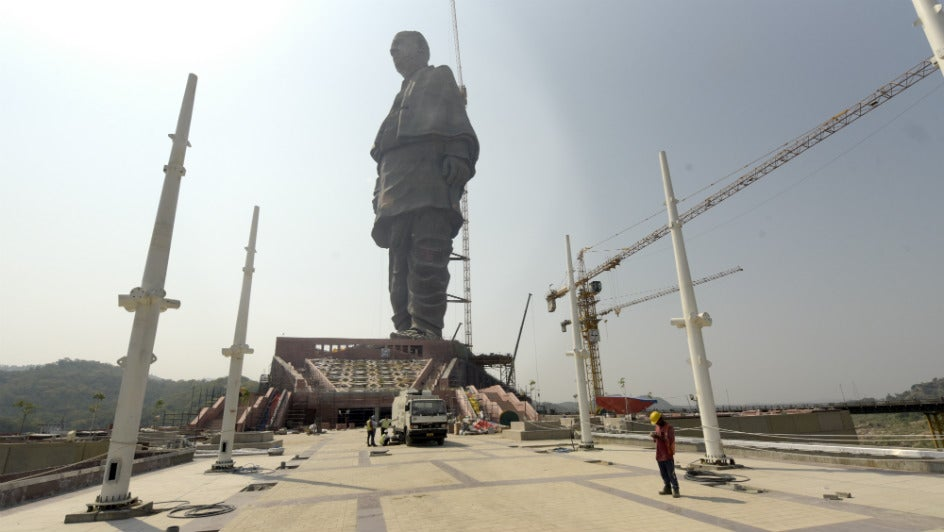 World's Tallest Statue Can Be Seen from Space