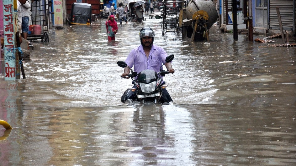 Monsoon Deficit Falls to 17%