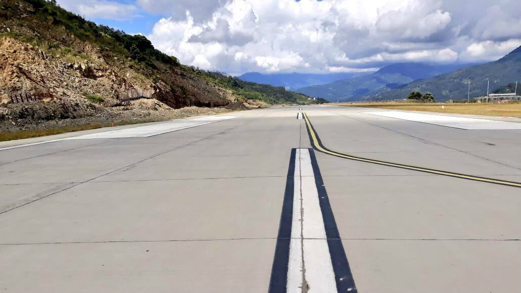 Nestled among the Himalayas, Sikkim's New (and Only) Airport Is a Beautiful Sight