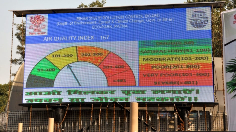 Twenty Cities Record 'Poor' AQI as Pollution Shifts Eastward; Delhi Likely to Lose T20 World Cup Hosting Rights