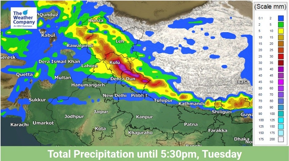 Two Western Disturbances to Tag-Team Northern India this Week
