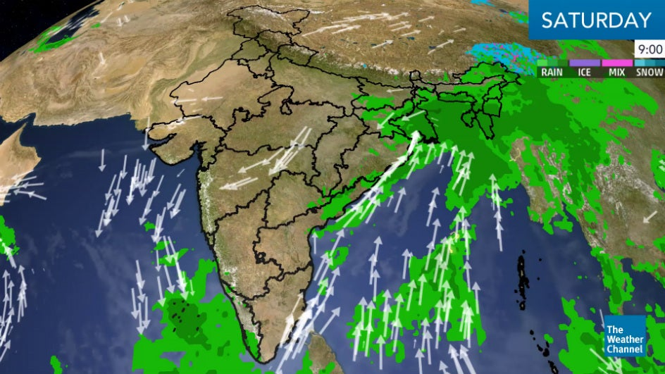 Warmer Conditions Prevail Across India; South Remains Rainy