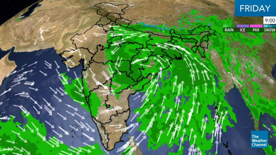 Cyclone Daye Hits Odisha; Will Weaken by Afternoon