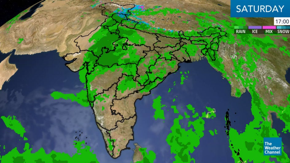 Weakened Daye is now a Depression: Set to Bring Very Heavy Rains